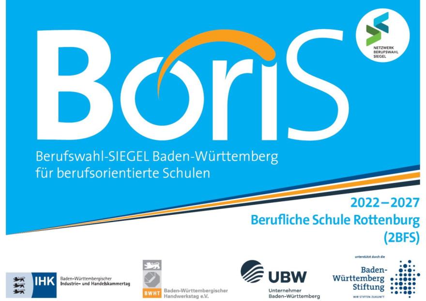 Logo des BoriS Berufswahl-Siegels