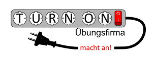 Logo der Übungsfirma Turn On